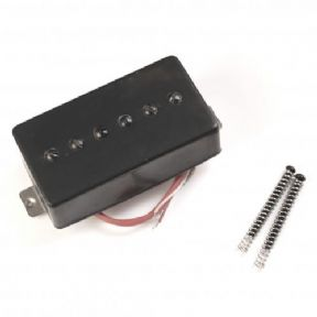 Kent Armstrong Humbucker Retrofit P90 Pickup Black Metal